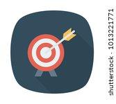 target  aim success  | Shutterstock .eps vector #1013221771