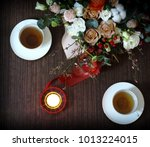 valentines day romantic... | Shutterstock . vector #1013224015