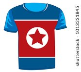 t shirt with flag of the...   Shutterstock .eps vector #1013231845