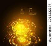 sci fi futuristic user... | Shutterstock .eps vector #1013232379