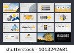 presentation slide template for ... | Shutterstock .eps vector #1013242681