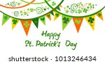 happy st. patrick's day.... | Shutterstock .eps vector #1013246434
