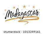 madagascar. name country word... | Shutterstock .eps vector #1013249161
