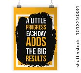 typography poster quote about... | Shutterstock .eps vector #1013250334