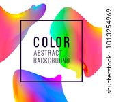 abstract vibrant background... | Shutterstock .eps vector #1013254969
