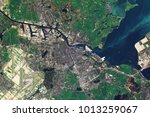 amsterdam  the capital of the... | Shutterstock . vector #1013259067
