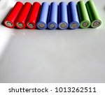 a bunch of colorful high...   Shutterstock . vector #1013262511