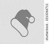 christmas hat vector icon eps... | Shutterstock .eps vector #1013266711
