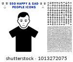 sad guy pictograph with 550... | Shutterstock .eps vector #1013272075