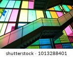 jan 29th  2017  the colourful... | Shutterstock . vector #1013288401