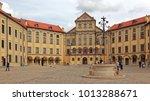 nesvizh  belarus   august 27 ... | Shutterstock . vector #1013288671