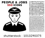 sad aviator pictograph with 550 ... | Shutterstock .eps vector #1013290375