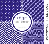 set of violet classic... | Shutterstock .eps vector #1013294239