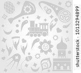 background. white pattern | Shutterstock .eps vector #1013294899