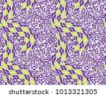 leopard and snake pattern ... | Shutterstock .eps vector #1013321305