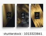 luxury packaging templates.... | Shutterstock .eps vector #1013323861