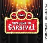 carnival banner background... | Shutterstock .eps vector #1013331769