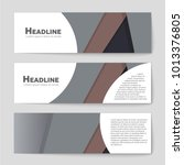 abstract vector layout... | Shutterstock .eps vector #1013376805