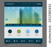 website design for your... | Shutterstock .eps vector #1013382631