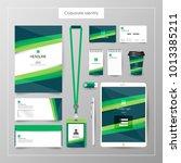 corporate identity template... | Shutterstock .eps vector #1013385211