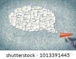 close of man making... | Shutterstock . vector #1013391445