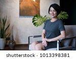 beautiful asian woman. | Shutterstock . vector #1013398381