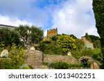 View On The Medieval Castle Of...