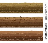 soil layers. seamless... | Shutterstock .eps vector #1013404774