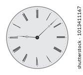 clock. vector illustration... | Shutterstock .eps vector #1013411167