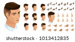 isometrics create your emotions ... | Shutterstock .eps vector #1013412835