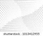 abstract halftone wave dotted... | Shutterstock .eps vector #1013412955