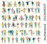 vector illustration in a flat... | Shutterstock .eps vector #1013449237
