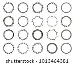 collection of different black... | Shutterstock .eps vector #1013464381
