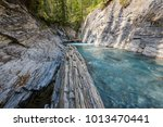 beautiful clear turquoise... | Shutterstock . vector #1013470441