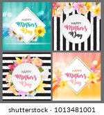 happy mother s day cute sale... | Shutterstock .eps vector #1013481001