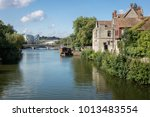 The River Medway At The County...