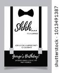 shh... surprise party... | Shutterstock .eps vector #1013491387