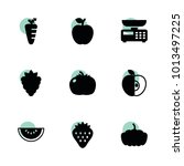 diet icons. vector collection...
