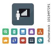 communication icons. vector... | Shutterstock .eps vector #1013497291