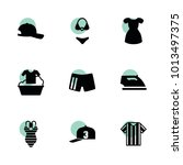 clothes icons. vector...