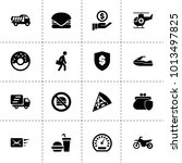fast icons. vector collection...