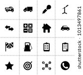ui icons. vector collection...