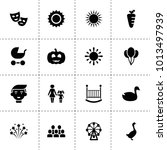 happy icons. vector collection...