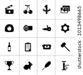 one icons. vector collection...