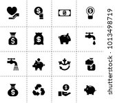 save icons. vector collection...