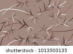 bamboo background. beautiful... | Shutterstock .eps vector #1013503135