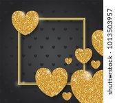 happy valentines day design.... | Shutterstock .eps vector #1013503957