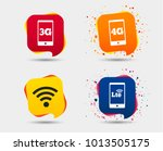 mobile telecommunications icons.... | Shutterstock .eps vector #1013505175