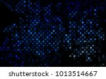dark blue vector  pattern with... | Shutterstock .eps vector #1013514667