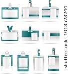 id badges eps | Shutterstock .eps vector #1013523244